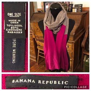 Banana Republic Wool Cashmere Blanket Scarf